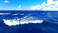 HD - Flight over the sea video