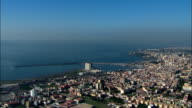 Flight Over Torre Annunziata  - Aerial View - Campania, Naples, Torre Annunziata, Italy video