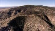 Flight Past Cerro Alesna  - Aerial View - New Mexico,  Cibola County,  United States video