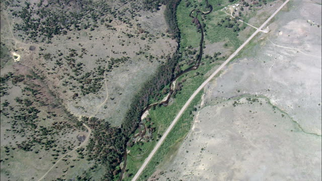 Flight through West Fork Buttes Botanical Area  - Aerial View - Montana,  Granite County,  helicopter filming,  aerial video,  cineflex,  establishing shot,  United States video