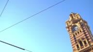 Flinders street station, Australia video