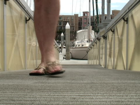 Flip-flops, Thongs, Jandals on Boat Dock - Coming video