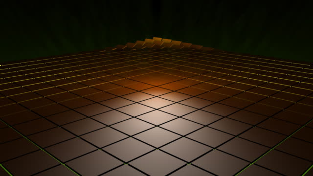 Flipping 3d Tiles HD video