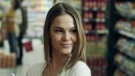 Flirting in supermarket video