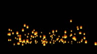 Floating Asian Lanterns video