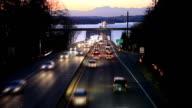 Floating Bridge in Washington State video