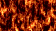 Floating fire background. video