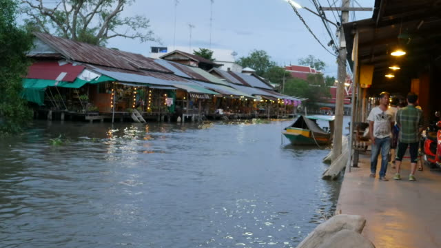 Floating Market in Thailand video