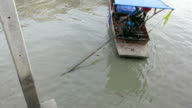Floating market, Thailand video