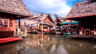 Floating Market TIME LAPSE video