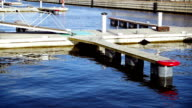 Floating pier for boats video