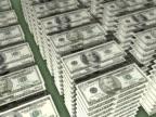 NTSC Floating Stacks of Money video
