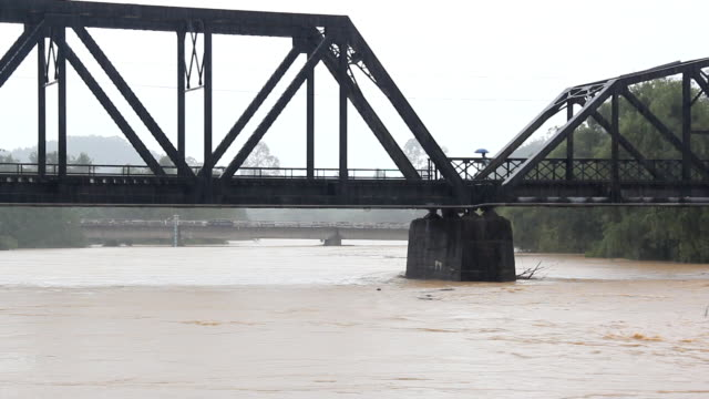 Flood on the river video