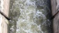 floodgate at Nong Pla Lai reservoir video