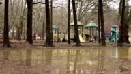 Flooding in kids park video