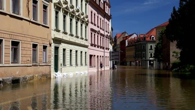 Flooding in Meissen, Germany, June 2013 video