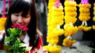 Flower Market HD Video video