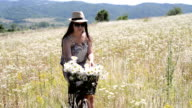 Flowers in bike video