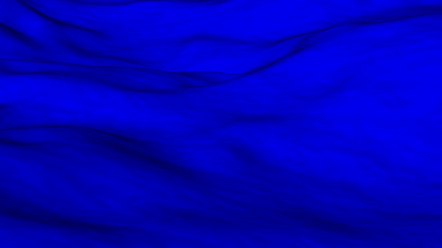 Flowing blue cloth background video