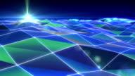 Flowing Digital Waves video