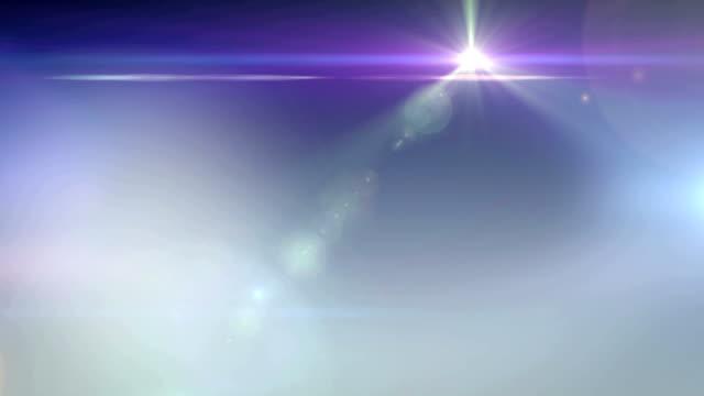 Flowing light trails video