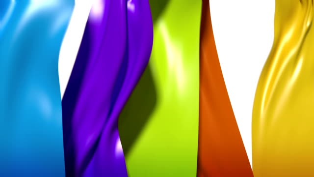 Flowing Ribbons video
