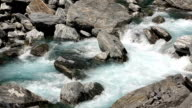 Flowing River in New Zealand video