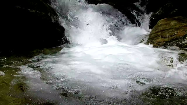 Flowing River Slow Motion video