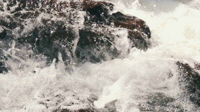 Flowing Stream Slow Motion video