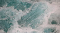 flowing water background video