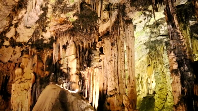 Flowstone Cave video