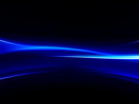 Fluid light blue. NTSC. video