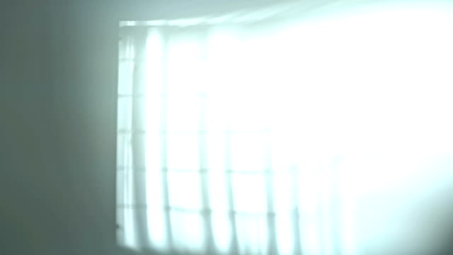 Fluorescent lights turning on and off video