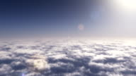 Fly above the clouds video