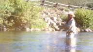 Fly fisherman video