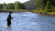 Fly Fishing in Scenic River video