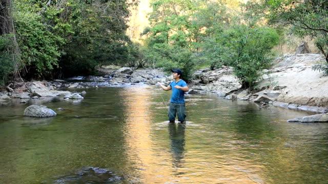 HD: Fly fishing video