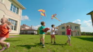 Flying a Kite video