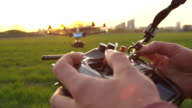 SLOW MOTION: Flying a multicopter with transmitter video