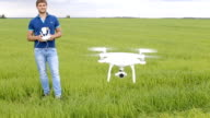 Flying a multicopter with transmitter video