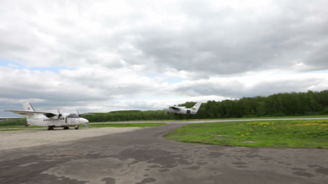 Flying a private jet video