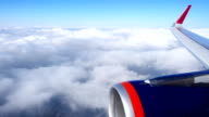 Flying above the clouds video