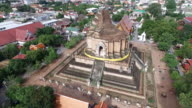 flying above the wat chediluang video