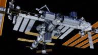 Flying Around International Space Station video