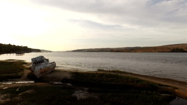 Flying Backwards by Point Reyes Shipwreck video