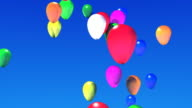 Flying Balloons video