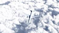 HD - Flying Boing 767 video