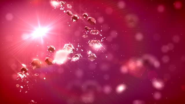 Flying diamonds video