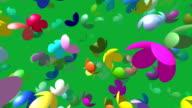 Flying flowers video