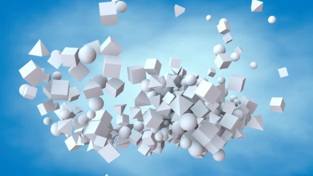 Flying geometry video